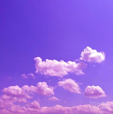 Lavender Skies Poster by M West