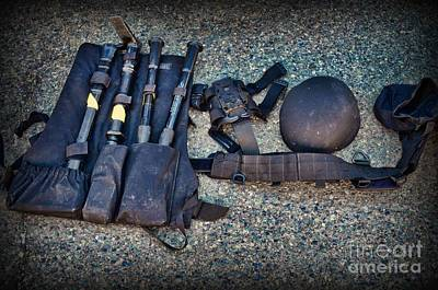 Law Enforcement -swat Gear - Entry Tools Poster by Paul Ward
