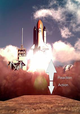 Law Of Action-reaction Poster