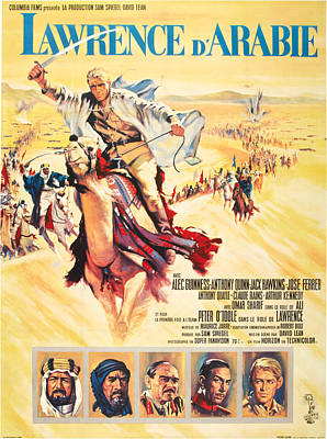 Lawrence Of Arabia Aka Lawrence Poster by Everett