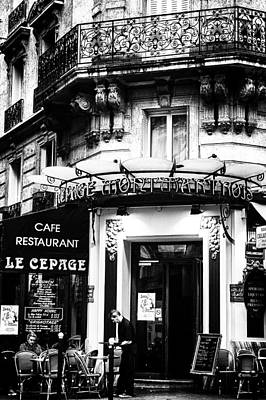 Le Cepage Cafe Poster by Georgia Fowler