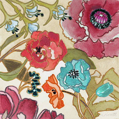 Le Jardin Colorful II Poster