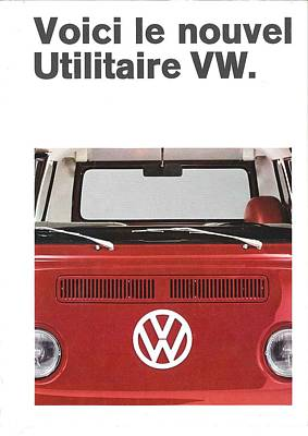 Le Nouvel Vw Poster