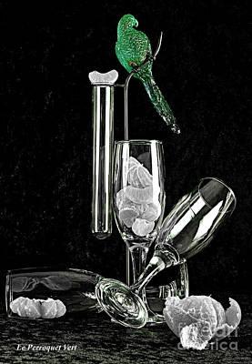 Le Perroquet Vert Poster