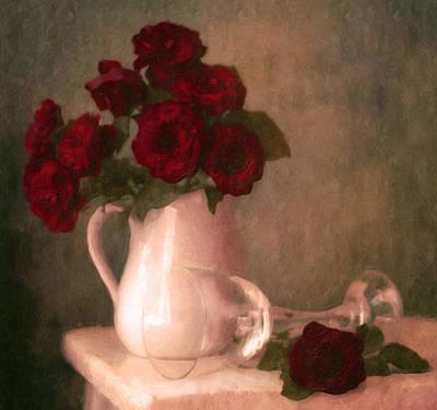Le Spectre De La Rose Poster by Georgiana Romanovna