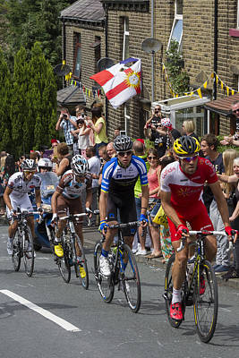 Le Tour De France 2014 - 8 Poster