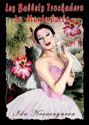 Le Traviste Poster by Jann Paxton