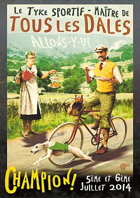 Le Tyke Sportif Poster