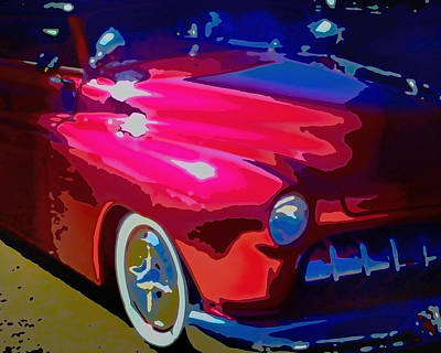 Lead Sled Poster by Michael Pickett