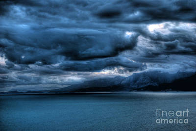 Poster featuring the photograph Leaden Clouds by Erhan OZBIYIK