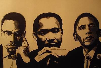 Leaders Poster by Robert Cunningham