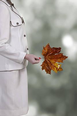 Leaf Poster by Joana Kruse