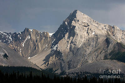 Poster featuring the photograph Leah Peak Canada by Chris Scroggins
