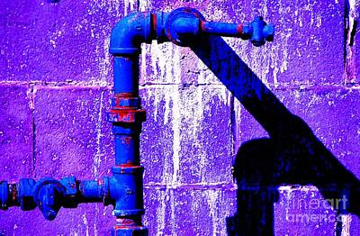 Poster featuring the photograph Leaky Faucet IIi by Christiane Hellner-OBrien