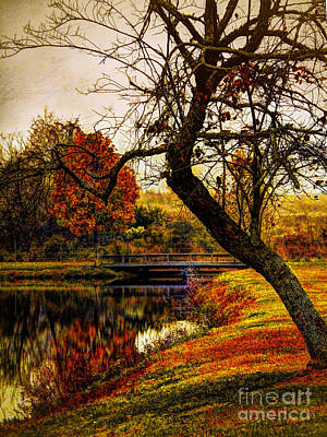 Leaning Toward Fall  Poster