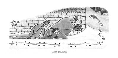 Learn Tracking Poster by Arnold Roth