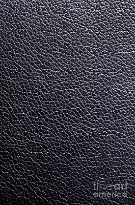 Leather Background Poster by Carlos Caetano