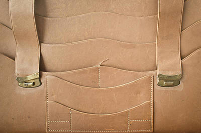 Leather Satchel Poster