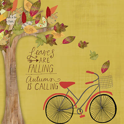 Leaves Are Falling Poster