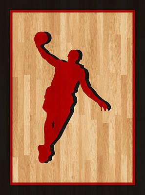 Lebron James Miami Heat Poster by Joe Hamilton
