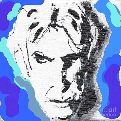 Lectric Blue Poster by Rodney van den Beemd