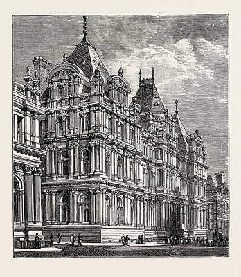 Leeds, The New Municipal Buildings Poster by English School