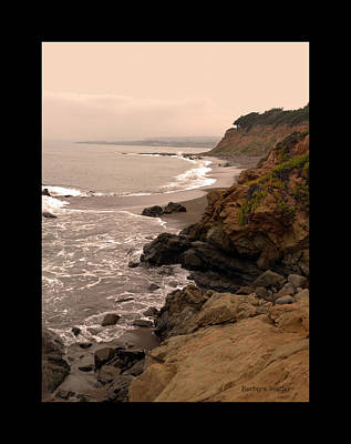 Leffingwell Landing Cambria Duvet Poster by Barbara Snyder