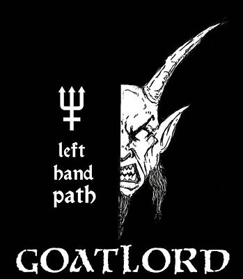 Left Hand Goatlord Poster by Alaric Barca