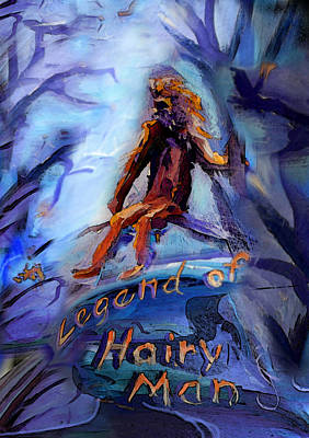 Legend Of Hairy Man Poster