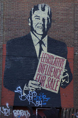 Legislative Influence For Sale Poster by Lorenzo Williams