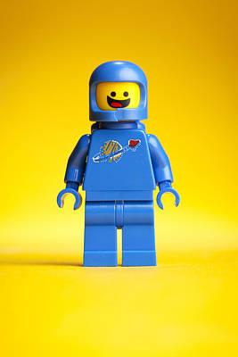 Lego Movie Benny Poster by Samuel Whitton