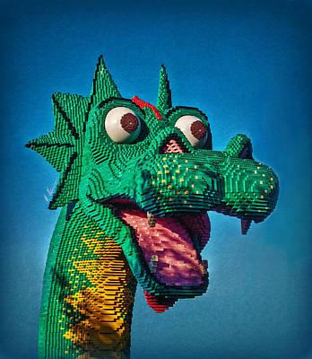 Lego Nessie Poster by Hanny Heim