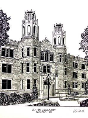 Lehigh University Poster by Frederic Kohli