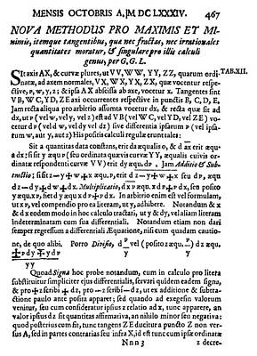 Leibniz Title-page Poster by Granger