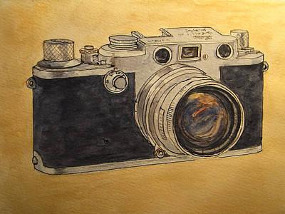 Leica IIif Poster by Juan  Bosco