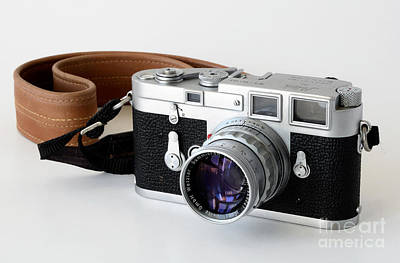 Leica M3 With Leather Strap Poster by RicardMN Photography