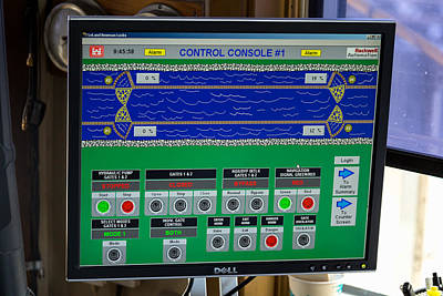 Leland Bowman Locks Controls Poster by Gregory Daley  PPSA