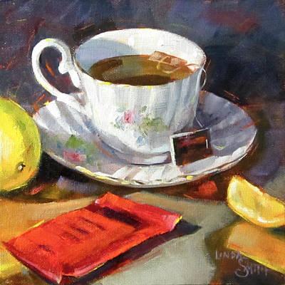 Lemon For Your Tea Poster