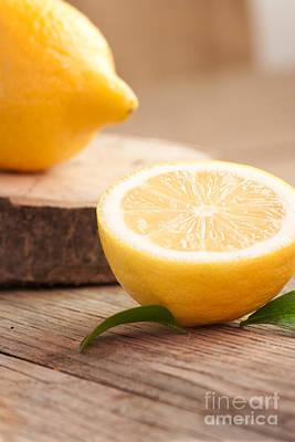 Lemon Fruit  Poster