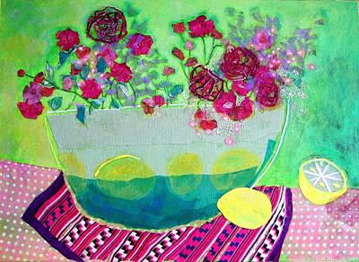 Lemons Poster by Diane Fine