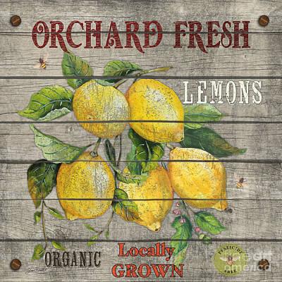 Lemons-jp2679 Poster by Jean Plout