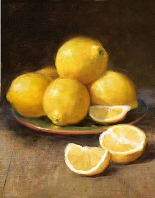 Lemons Poster by Robert Papp