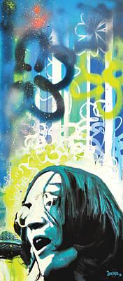 Lennon Poster by Erica Falke