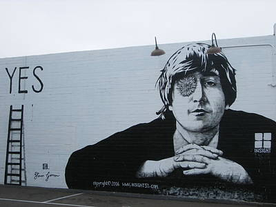 Poster featuring the photograph Lennon Portrait by Nathan Rupert