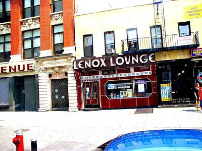 Poster featuring the photograph Lenox Lounge Harlem 2005 by Cleaster Cotton