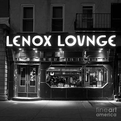 Lenox Lounge_176 Poster by Andria Patino