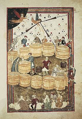 Lenzi, Domenico 14th Century. Specchio Poster by Everett