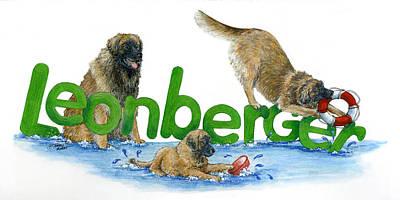 Leonberger Poster