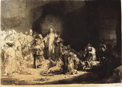 Leopold Flameng After Rembrandt Van Rijn Poster