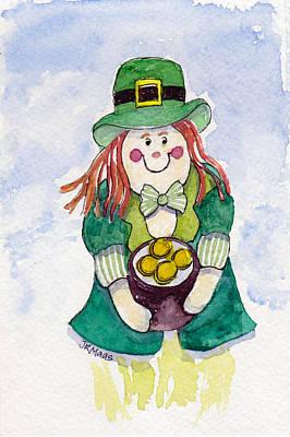 Leprechaun Lassie Poster